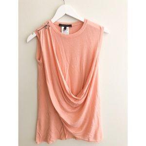 BCBGMAXAZRIA pink top